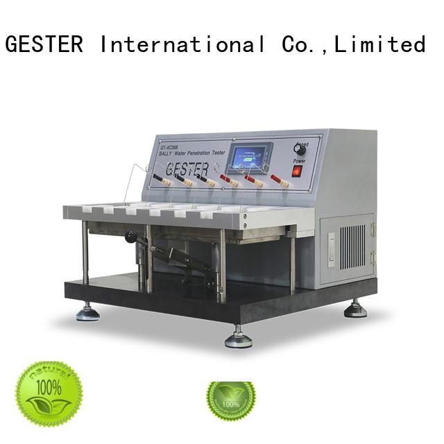 GESTER dual martindale abrasion tester price manufacturer for footwear