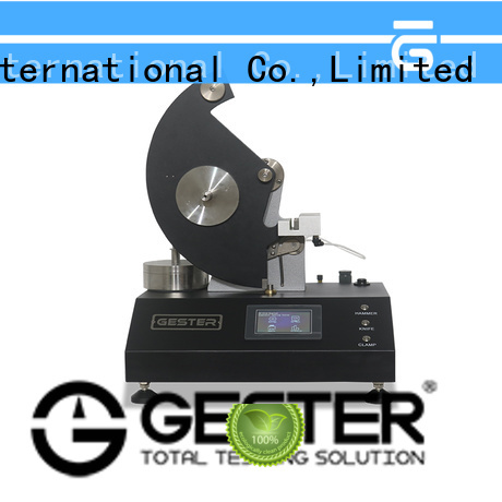 GESTER electronic Non Woven Fabric Testing Instruments manufacturer for fabrics