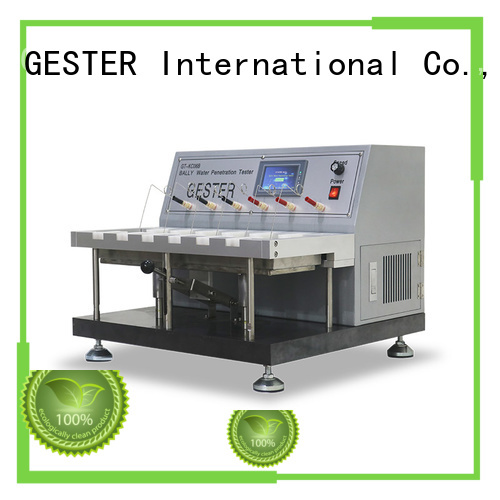 GESTER bally leather flexing tester price list for she