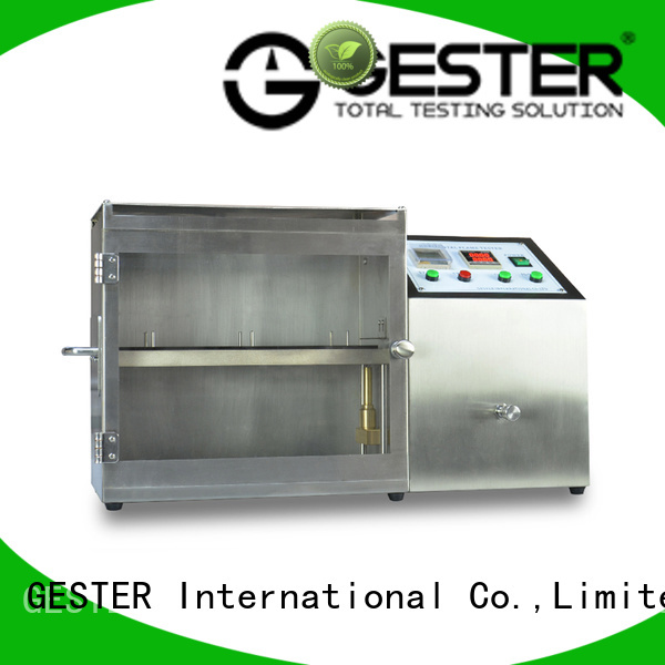 GESTER flammability tester price for textile