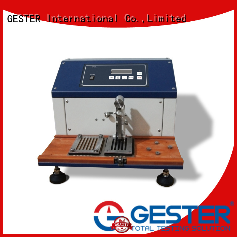 GESTER Cutting test for shoe upper price list for lab