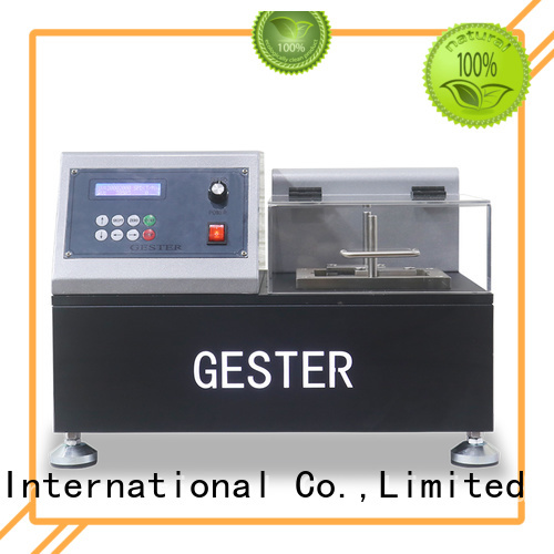 GESTER coated fabric flexing tester supplier for test
