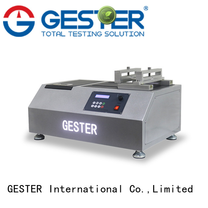 GESTER rubber fatigue testing machine supplier for footwear