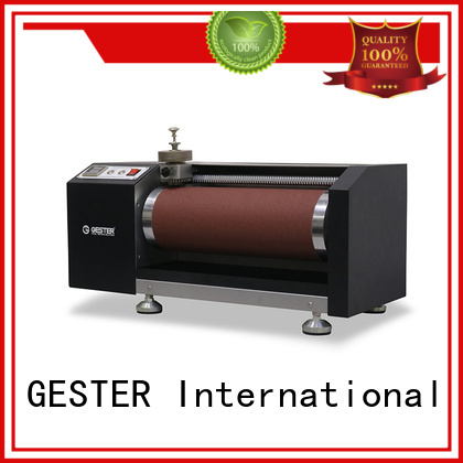 GESTER dual Bally Resistance Flexing Tester procedure for shoe