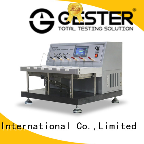 GESTER Leather Testing Equipment supplier for material