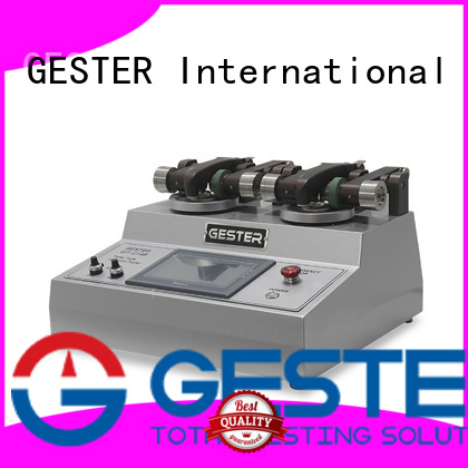 GESTER Leather Testing Equipment supplier for test