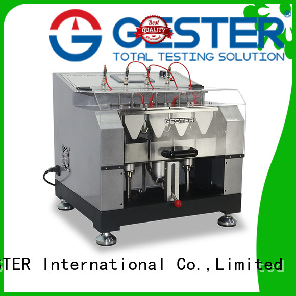 rubber Leather Testing machine supplier for leather
