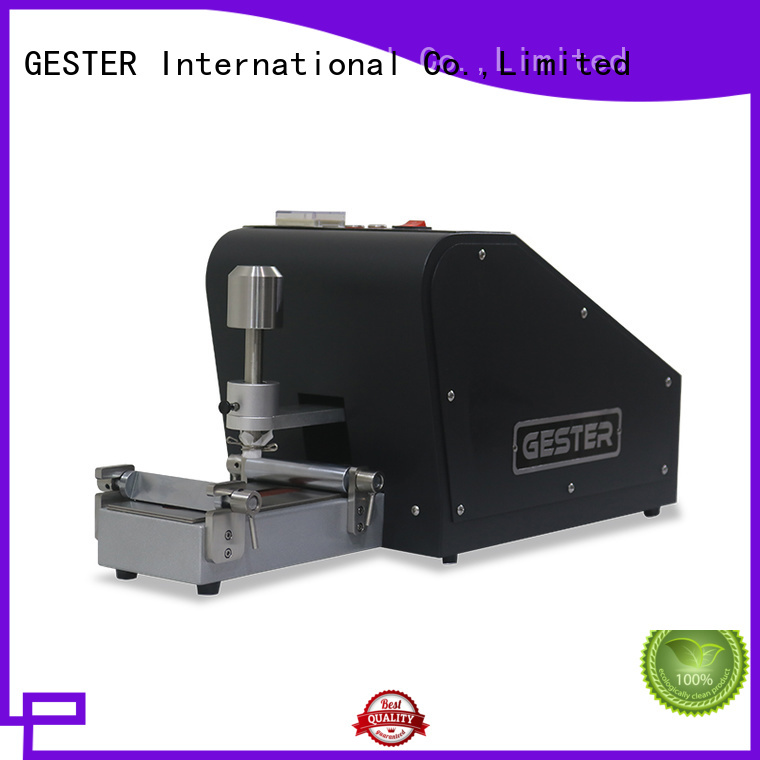 GESTER high precision rubbing fastness tester manufacturer for laboratory