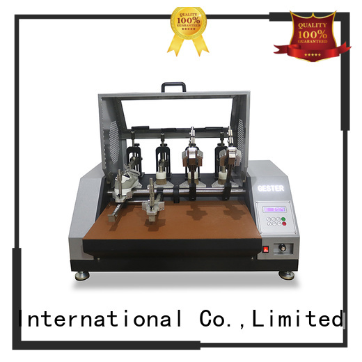 GESTER shoe material test equipment for sale for she
